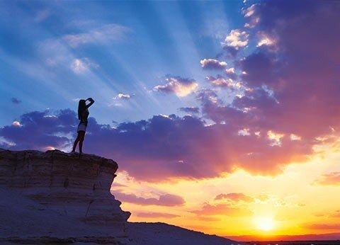 небо, восход