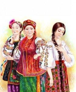 Мачеха, её дочь и падчерица